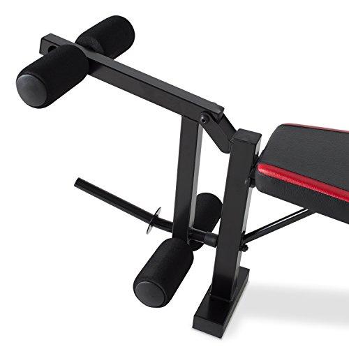 Cap Barbell Fm Cs7240 Strength Standard Bench With Leg Developer Train Gain Win
