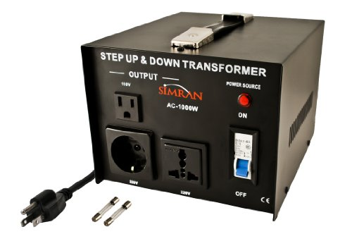 Simran Ac-1000 Step Up/Down Voltage Converter Transformer 110V/220V - 1000 Watts