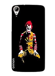 Omnam Mc Donald horro look Printed Back Case for HTC Desire 828