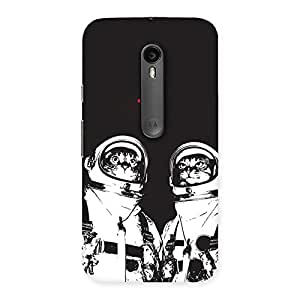 Gorgeous Cat Astro Back Case Cover for Moto G3