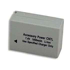 CANON NB-7L Equivalent Li-ion Battery For PowerShot G10 / G11 Digital Cameras *includes 3 Year Warranty