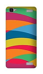 ZAPCASE Printed Back Cover for VIVO V1 MAX