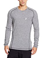Peak Performance Camiseta Manga Larga Multi Ls 180 (Gris Jaspeado)