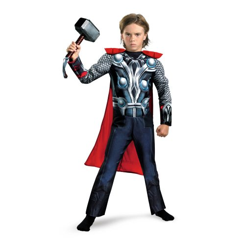 Thor Costume Avengers Muscle Costume Child Avengers Costume 43656