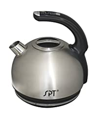 SPT SK-1800SS Multi-Temp Intelligent Electric Kettle, 1.8-Liter, Stainless Steel