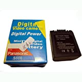 Replacement Battery For Panasonic CGR-S006E CGRS006E CGR-S006 Digital Photo Camera , Camcorders