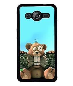 printtech Cartoon Beaver Back Case Cover for Samsung Galaxy Core Prime G360
