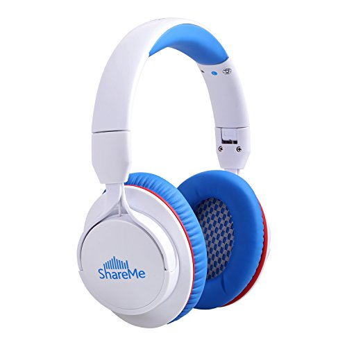 Over-Ear-Headphones-Mixcder-ShareMe-Wireless-Bluetooth-41-Stereo-with-Built-in-Mic-Passive-Noise-Cancelling-and-Volume-Control-for-Travel-Work-Sport-Foldable-Gym-TV-Headsets