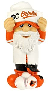 MLB Baltimore Orioles Thematic Gnome - 2nd Version by Forever Collectibles