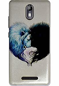The Glam Life Best Protection Printed Back Cover For Micromax Canvas Evok ( Original Designer )