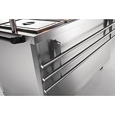 Lincat Panther Tray Slide for P6B2 and P6P2 Stainless steel construction. Dimensions: 25(H)x 900(W)x 320(D)mm