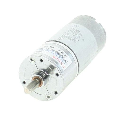 Dc 24V 100Rpm Shaft 2 Pins 37Mm Diameter Electric Power Geared Motor