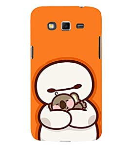 EPICCASE Cute Teddy cover Mobile Back Case Cover For Samsung Galaxy Grand Neo (Designer Case)
