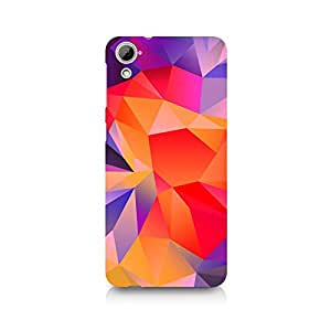 TAZindia Designer Printed Hard Back Case Mobile Cover For HTC Desire 826