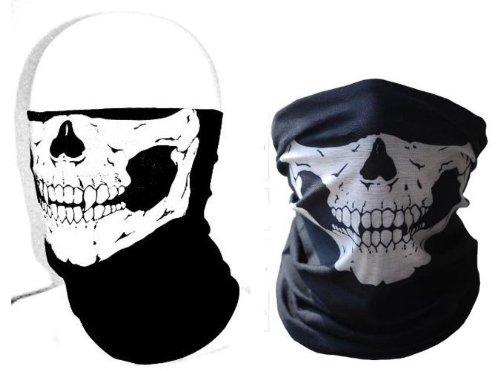 スカル フェイスマスク   タクティカル ゴースト  アーミー カモフラージュ ミリタリー Skull Face Mask / Tactical Ghost Army Camouflage / Military