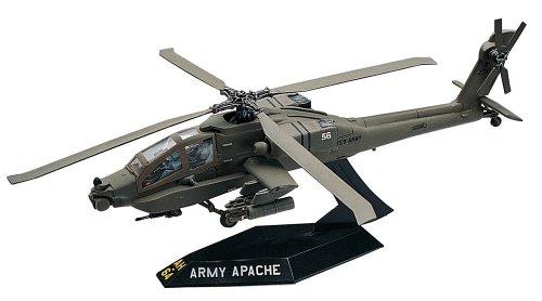 Revell 1:72 Ah64 Apache Helicopter Desktop - 1