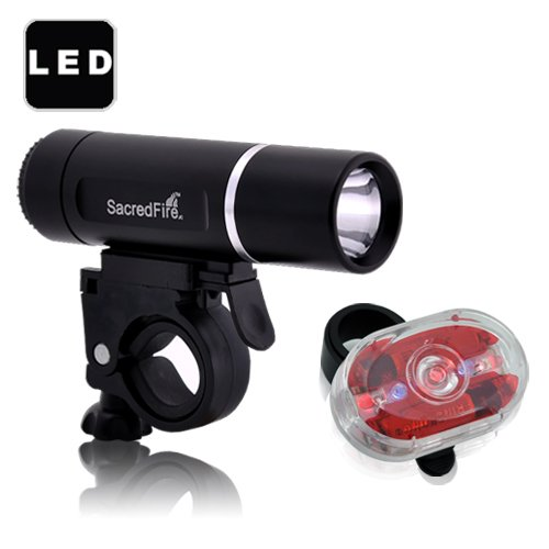 Buy Low Price Super Bright LED Bicycle Light Set – Solar Edition (B00563O8K4)