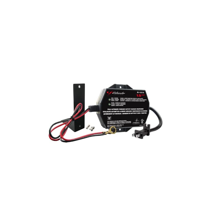 Schumacher SE-1-12S-CA Fully Automatic Onboard Battery Charger - 1.5 Amps- free S/H