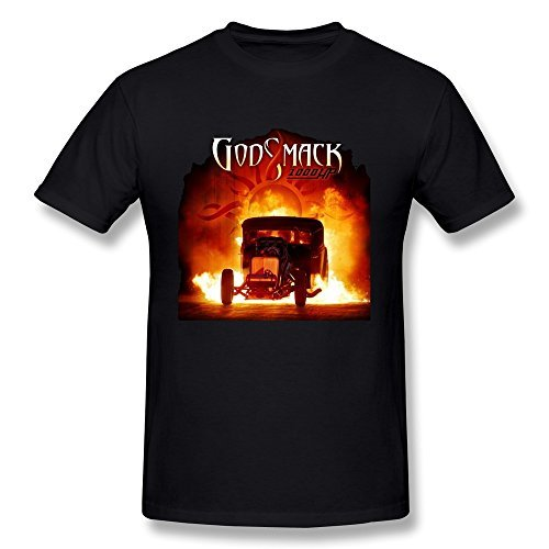 DONVAN Men's Godsmack 1000hp T-shirt