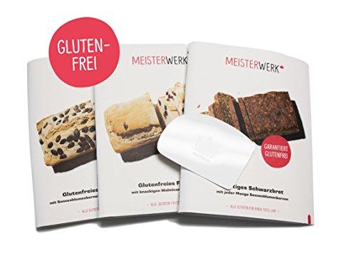 Meisterwerk glutenfreie Brotbackmischung: Glutenfreies Probier-Paket zum zu Hause selber backen