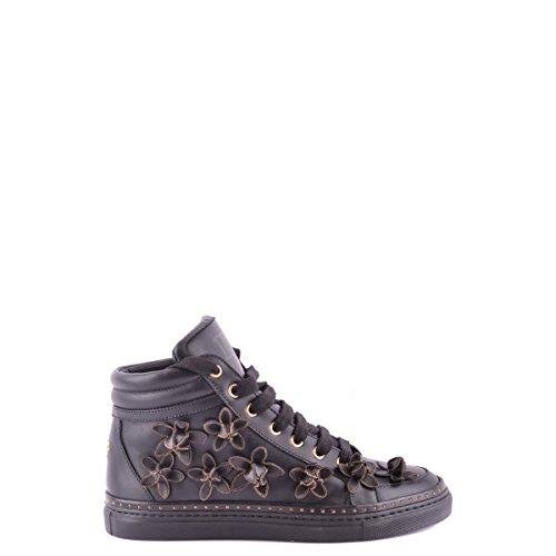 Dsquared2 Dsquared scarpe sneakers alte donna in pelle nuove nero EU 36 W13K301015