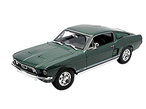 maisto-31166gr-ford-mustang-fastback-1967-echelle-1-18