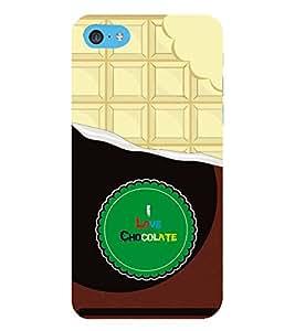 HiFi Designer Phone Back Case Cover Apple iPhone 6s Plus :: Apple iPhone 6s+ ( I Love Chocolate )