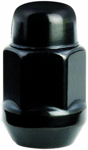 Gorilla Automotive 41188BC AcornBulge Black (1/2 in.Thread Size) – Box of 100