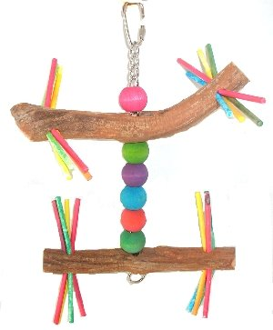 Cheap Stick Twirl 6in x 9in Medium Bird Toy (B000ENIRY4)