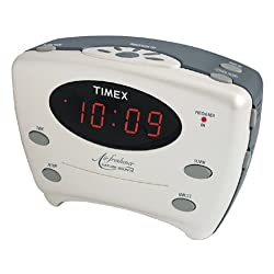 Timex T120W Air Freshener Clock with Nature Sounds