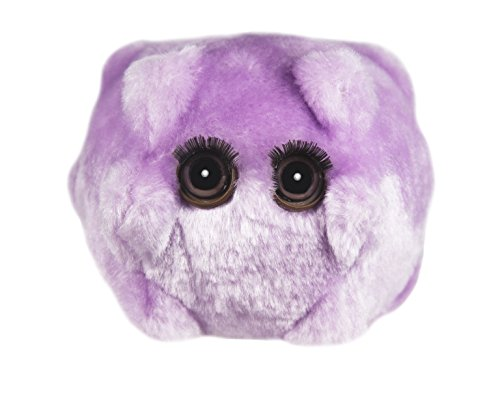 Giant Microbes Kissing Disease (Epstein-Barr) Plush Toy