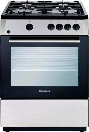 Blomberg BGR24100SS Gas Range with 4 Burners, 24-Inch, Stainless Steel (Flame Broiler Oven compare prices)