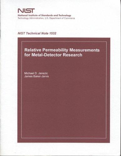 Relative Permeability Measurements for Metal-Detector Research by Janezic Michael D. Baker-Jarvis James (2004-08-31) Paperback