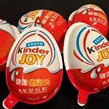 10 pcs KINDER JOY plastic eggs chocolate & Secret toys Regular Edition