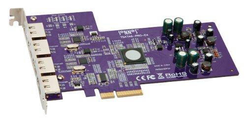十四行诗 / 技术节奏 SATA 6 GB PRO PCIe 2.0 卡 (4 外部端口) [建议回声迅雷适配器]
