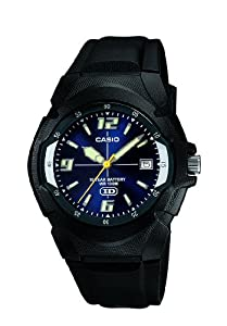 (历史最低)卡西欧CASIO Men's MW600F-2AV Watch 十年电池夜光运动潜水表$15.84