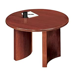 series round conference table finish black profile bullnose size