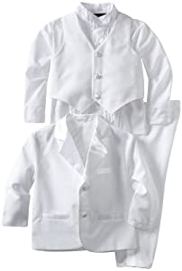 Joey Couture Boys Tuxedo No Tail Suit - Ring Bearer Outfit