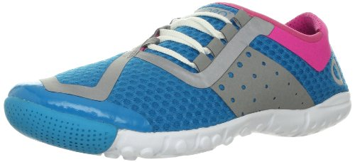 SKORA Women's Phase Running Shoe,Light Blue/Pink/White,6.5 M US