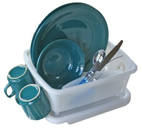 Camco 43511 RV Mini Dish Drainer and Tray