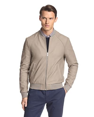 Soia & Kyo Men's Rufus Leather Bomber