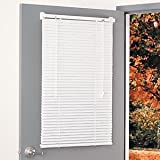 MagneBlind Magnetic Aluminum Mini Blind 25Wx68 1/2L No Tools Required
