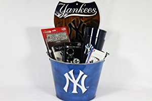 New York Yankees Party Pail Gift Basket by New York Yankees