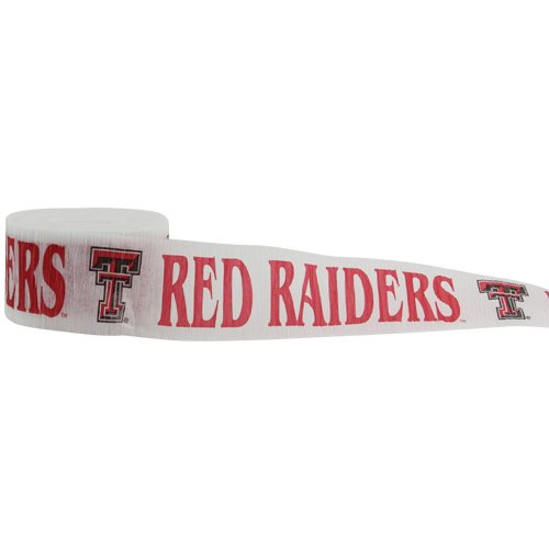 NCAA Texas Tech Red Raiders Team Party Streamer