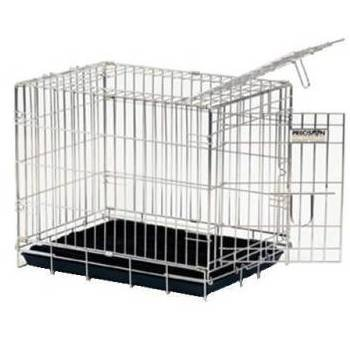 Precision Pet Two-Door Great Crate Small 2000 24 x 18 x 20 ChromeB00028IUIE : image