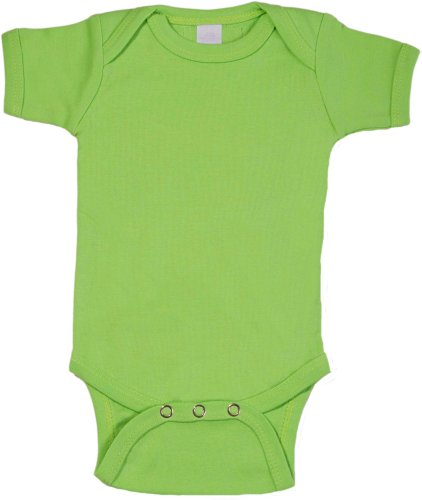 Lime Onesie Short Sleeve front-818162