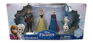 Beverly Hills Teddy Bear Company Frozen Olaf, Anna, Elsa, Kristoff Figure (4-Pack) by Beverly Hills Teddy Bear Company