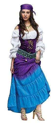 Coslove Gypsy Moon Adult Costume Size Medium 8-10