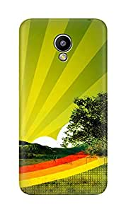 ZAPCASE PRINTED BACK COVER FOR MEIZU M2- Multicolor