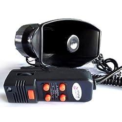 Funny product Koolertron CAR Amplifier Alarm 12v Pa Speaker System Mic 5 Sound New